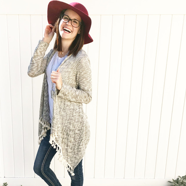 The Perfect Fall Cardigan