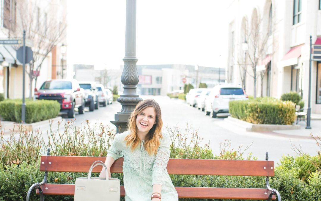 Spring Outfit Featuring The Turquoise Tulip